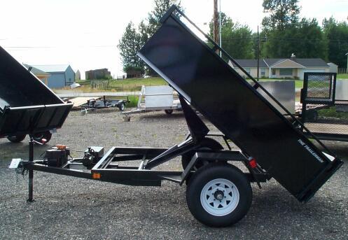single_axle_dump_trailer